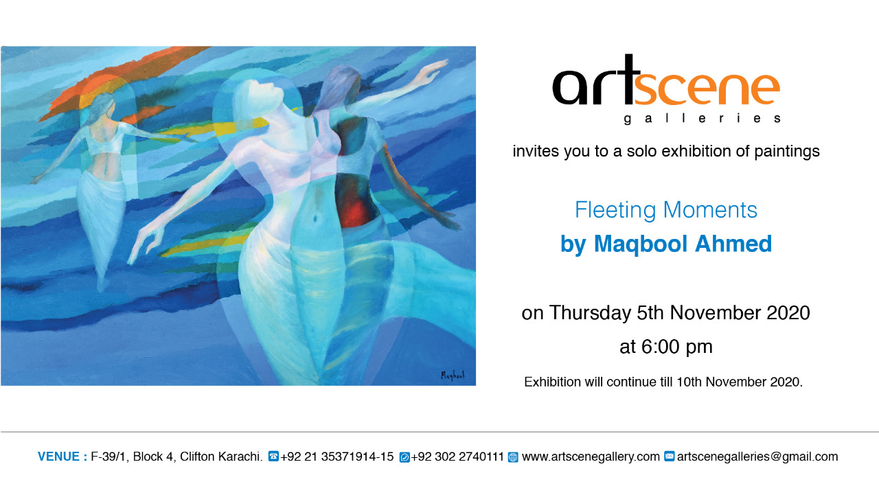 Fleeting Moments - Solo Exhibition of Paintings